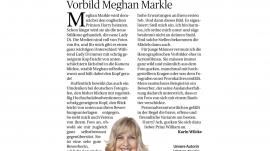 Vorbild Meghan Markle